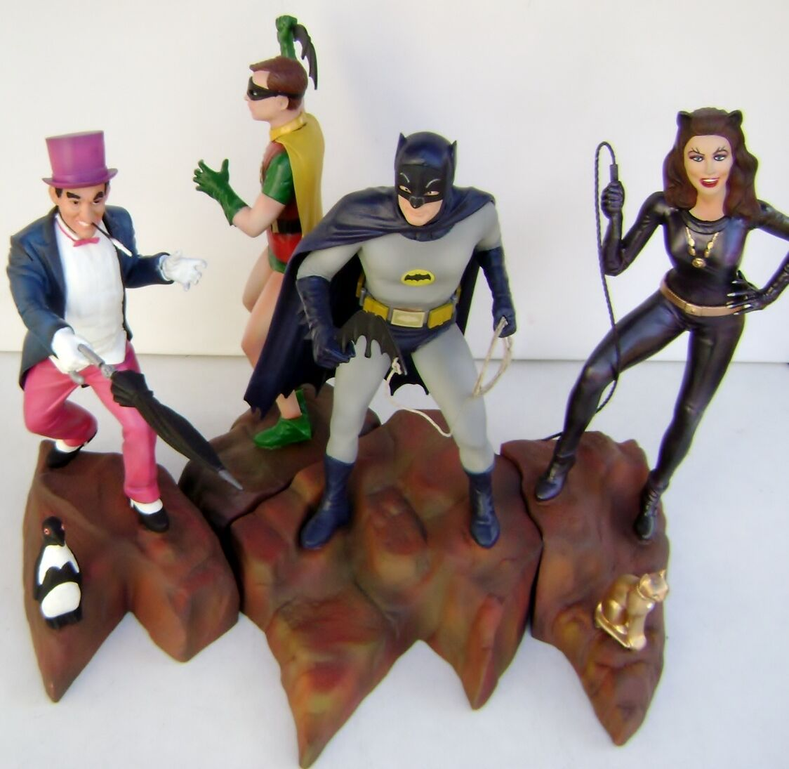 1966 ROBIN BATMAN MOEBUIS AURORA Burt Ward DC COMICS Professionally AIR BRUSHED