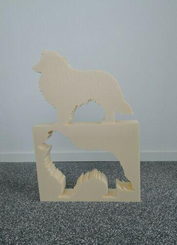 "Gießformen Styrodur /""Hund 25 cm Shetland Sheepdog/"" Form Dekoration Lieblingstier"