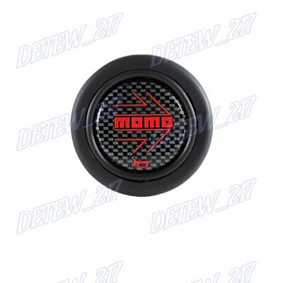 MOMO gloss black Steering Wheel Horn Button Sport Competition Tuning 59mm