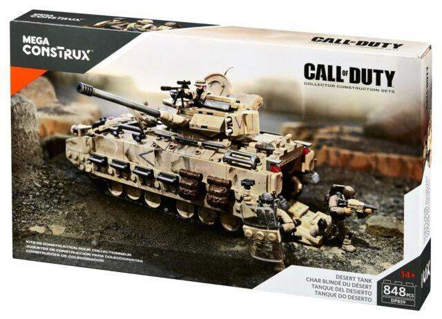NEW  Mega Bloks Construx Call of Duty Desert Tank Bradley Fighting Vehicle DPB59