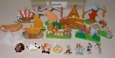 """Kompletttsatz """"Asterix in Amerika"""" Spielzeug + alle Zettel und Aufkleber a Folie"""