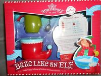 Hallmark Northpole Bake Like An Elf Baking Kit
