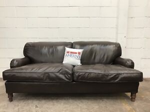 Image Is Loading Superior Howard And Sons Style Brown Leather Antique