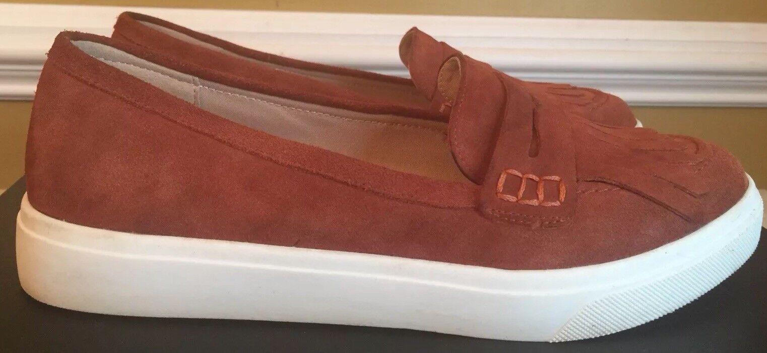 Sole Society Schuhes  Daria Rust  Suede Größe  Schuhes 7 4ed404