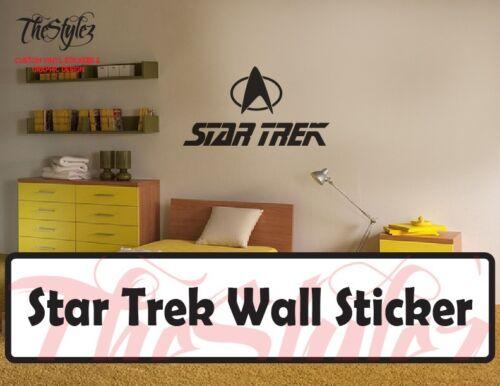 Star Trek Wall Vinyl Sticker
