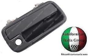 MANIGLIA APRIPORTA ANTERIORE SX EST NERA C//FORO SUZUKI VITARA 88/>98 1988/>1998