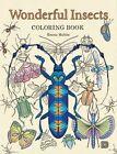 Wonderful Insects: Coloring Book von Emma Hulten (2016, Taschenbuch)