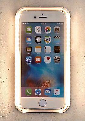 meet 3cb29 0db8f LED Light Up Selfie Case For Samsung S7 S7edge S8 S9 & iPhone 6 6S 7 ...