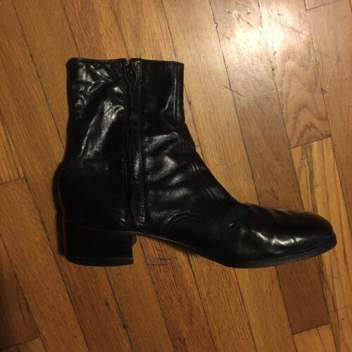 Vintage Florsheim 1960-70s Zip boots