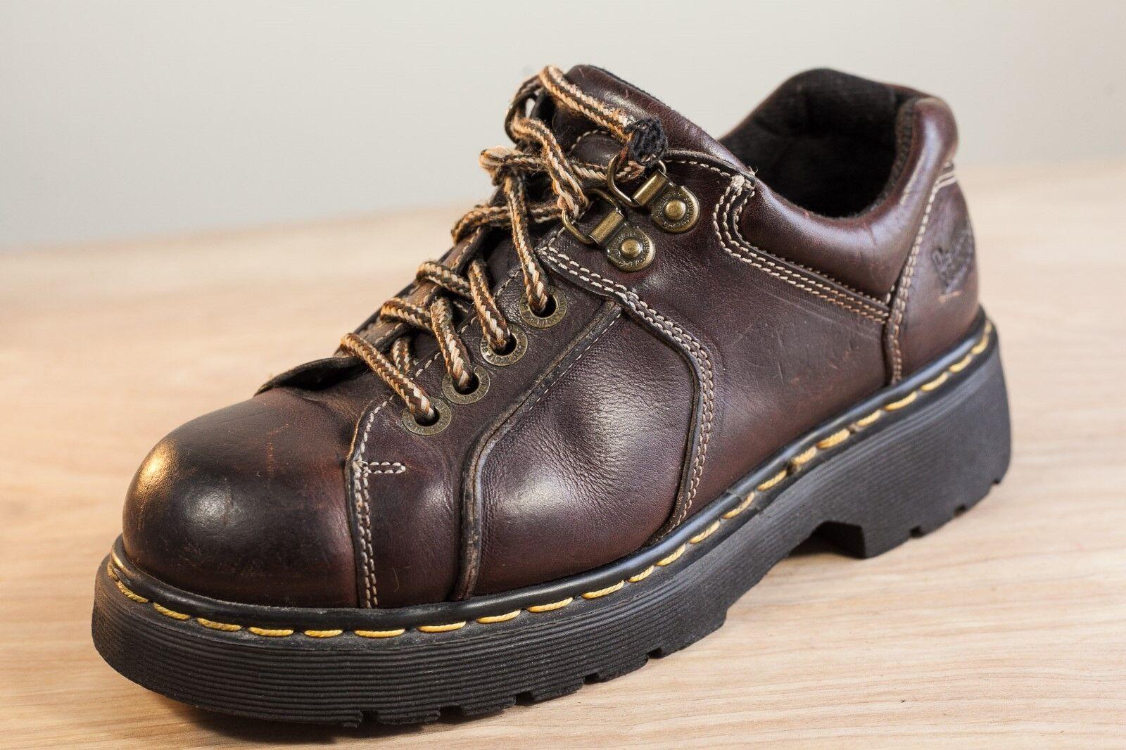 Dr Martens 6 Braun Oxfords  Vintage Uomo Leder Schuhes 9351 Vintage  93d574