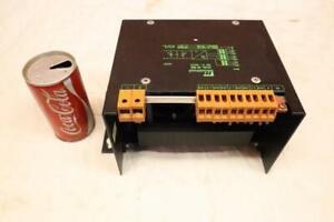 Good Used Murrelektronik 85 885 Input 400V Output 24V 16A Power Supply