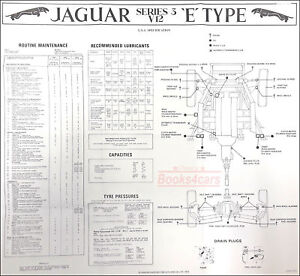 JAGUAR WIRING MAINTENANCE XKE E TYPE ELECTRICAL V12 S3