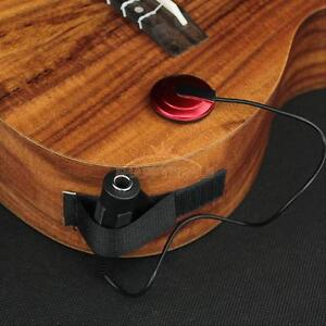acoustic piezo contact microphone pickup for guitar violin mandolin ukulele new ebay. Black Bedroom Furniture Sets. Home Design Ideas