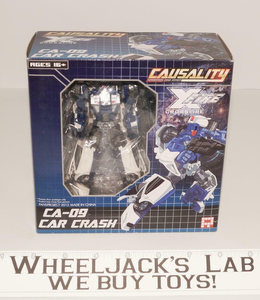 Ca-09 accidente de coche la causalidad Crossfire Menasor nuevo Fansproject Transformers