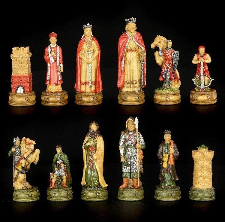 Pezzi degli scacchi Set-Cavalieri contro gli Arabi-pezzi Arabi-pezzi Arabi-pezzi degli scacchi gioco decorazione-Veronese 03d4ad
