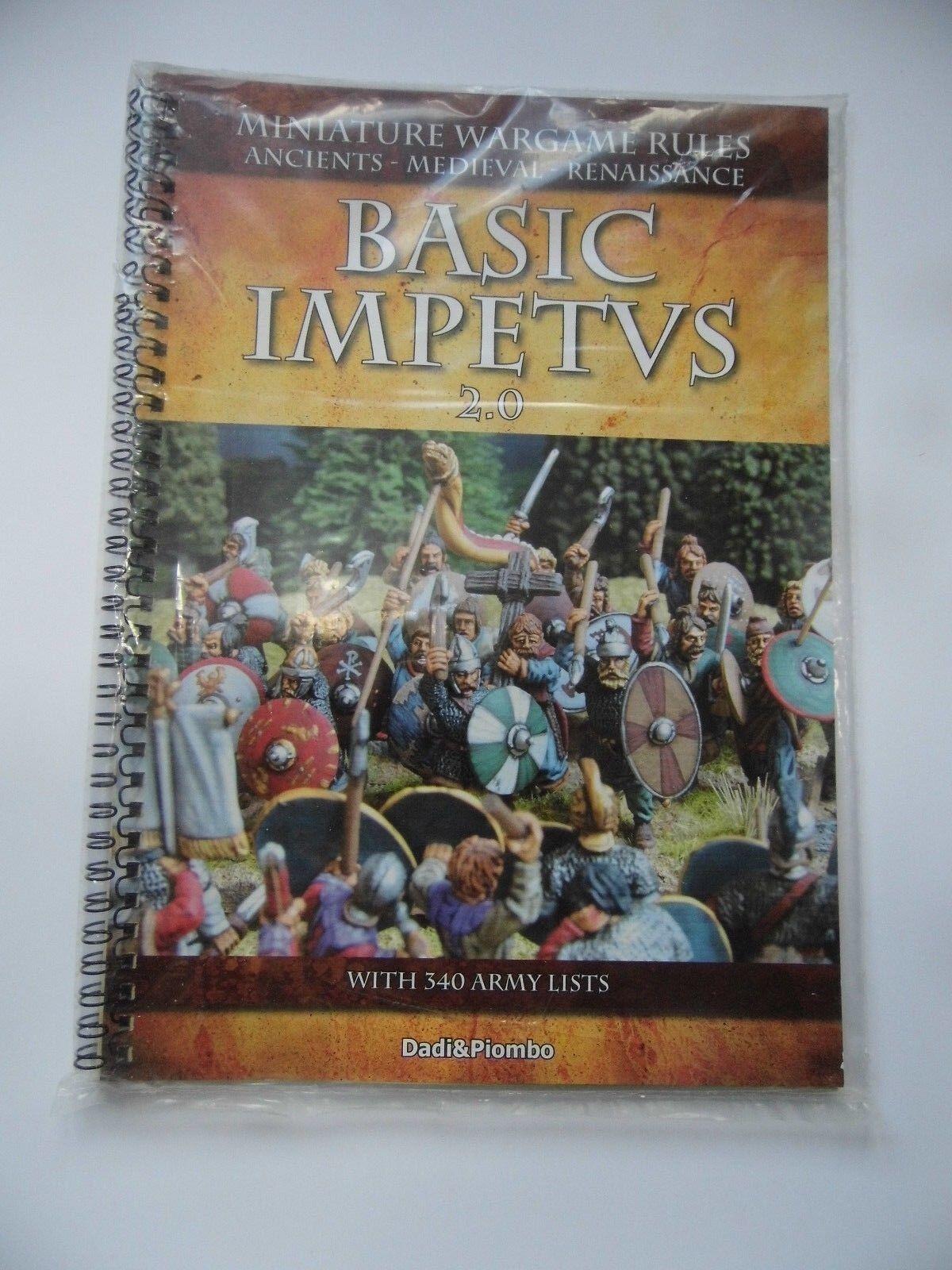 BASIC IMPETVS 2.0 - (SOFTCOVER) MINIATURE WARGAME RULES  - NEW SEALED
