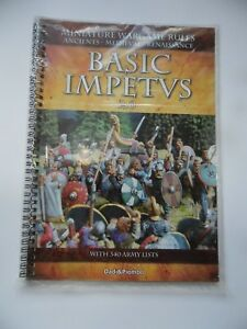 Details about BASIC IMPETVS 2 0 - (SOFTCOVER) MINIATURE WARGAME RULES - NEW  SEALED