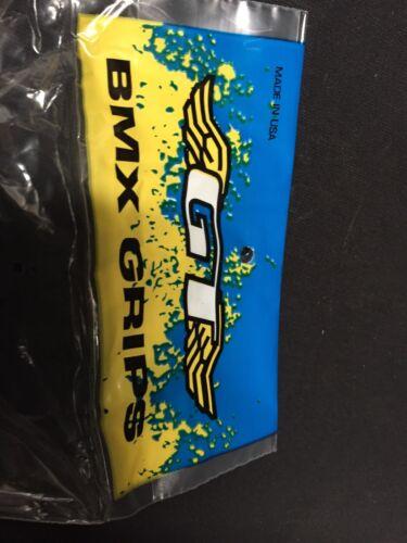 Nos GT Racing Bmx Circle logo Bmx Grips Freestyle fit:Gt Expert Mach 1 Performer