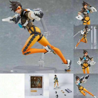 Figma #352 Overwatch Loose Tracer Model Toy Cartoon Action Figure Anime Figure