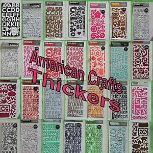 American Crafts Thickers