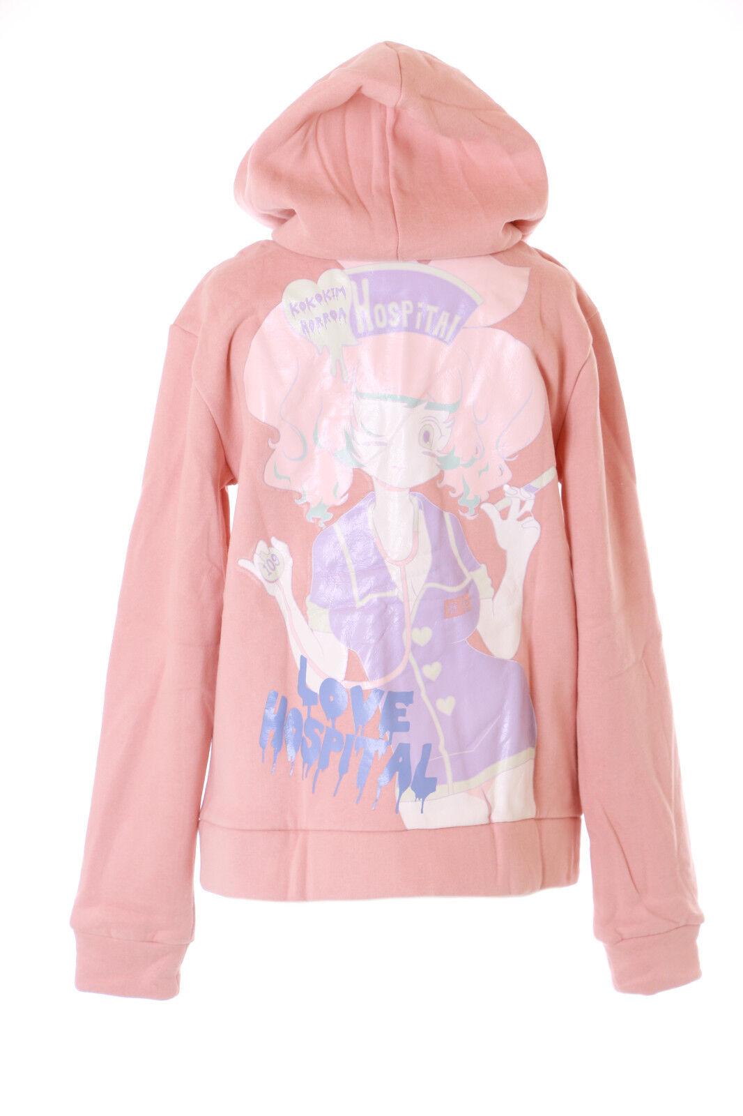 TS-147-1 pink Nurse Krankenschwester Horror Goth Lolita Hoodie Sweatshirt