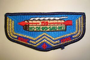 OA-HO-DE-NO-SAU-NEE-159-NIAGARA-FRONTIER-COUNCIL-PATCH-1990-NOAC-DELEGATE-FLAP