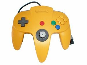Official-Nintendo-Brand-N64-Controller-Yellow-Gaming-Controller