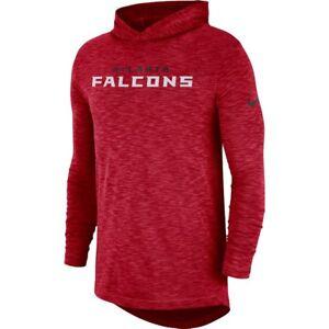 buy popular 2e34e 5b9d7 Image is loading Nike-NFL-2018-Atlanta-Falcons-Sideline-Slub-Dri-