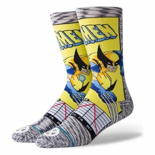 Stance Wolverine Comic Crew Sock