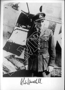 SPSF11A WWII WW2 RAF Battle of Britain WINSKILL DFC signed evader photo