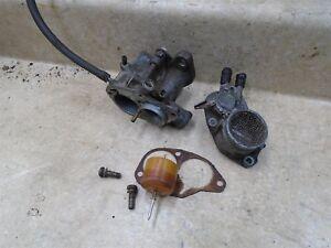 Honda-70-C-PASSPORT-C70-K1-Moped-Engine-Parts-Carburetor-1972-BG-SM384