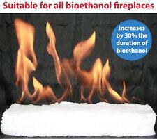 CERAMIC FIBRE HYDROPHILIC BIOETHANOL FIREPLACE FIREPLACES 300 X 100 X 25 mm