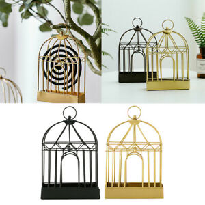 Outdoor-Mosquito-Mozzie-Coil-Holder-Birdcage-Burner-Repellant-Home-Garden-Decors