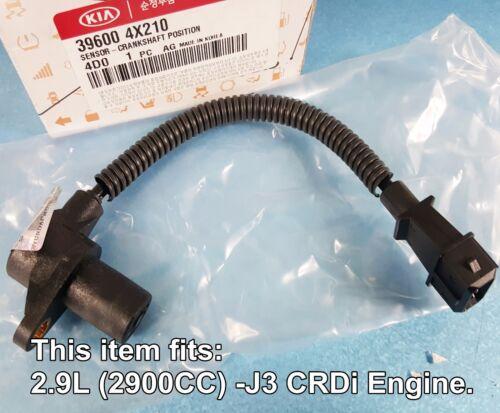 OEM Crankshaft Position Sensor KIA Sedona Carnival 2.9L-J3 2006-2014 #396004X210