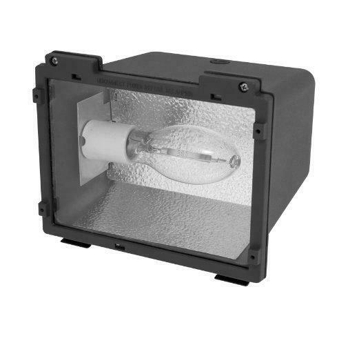 Small Flood Light 35w 120V High Pressure Sodium S76 HID Site Lighting w//Lamp NEW