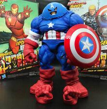 "Marvel Select DST X-Men Juggernaut Captain America Custom 9"" Action Figure"