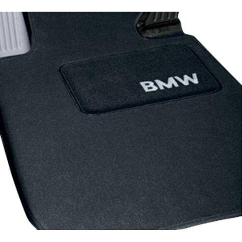 Set of 4 BMW Carpeted Floor Mats 325xi 330xi Sedan /& Wagon BLACK  82110026591