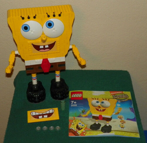 LEGO 3826 - SpongeBob SquarePants: Build-A-Bob - NO BOX