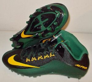 e73051256442 NEW NIKE ALPHA PRO 2 MID 3 4 TD GREEN BAY PACKERS Football Cleats ...
