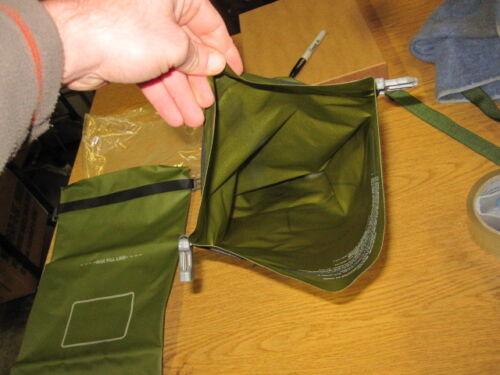 2 USMC MACS Sack Compression Dry Sack 9L Olive Drab Waterproof Bag ILBE SEALINE