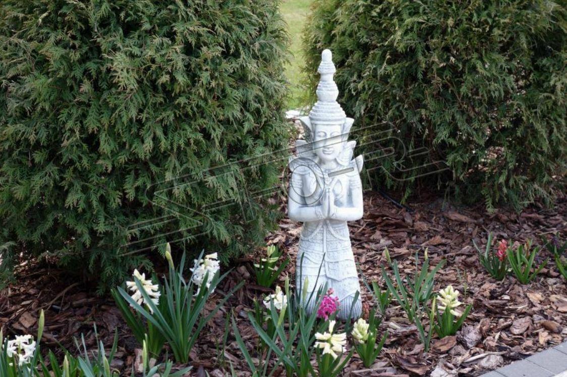 Buda escultura en piedra óptica. gran escultura para el jardín y sala de eEstrella 101155