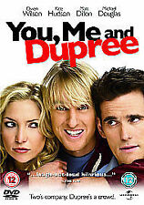 YOU, ME AND DUPREE DVD Cert 12 Owen Wilson Kate Hudson Matt Dillon Comedy