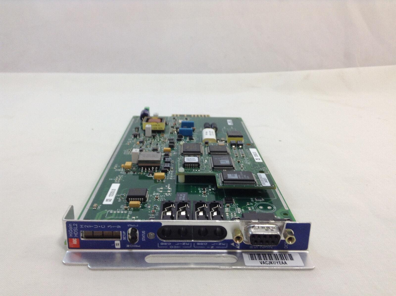 ADC / Pairgain H2TU-C319-L2 / 150-2400-02 HDSL CO Line Module, Used