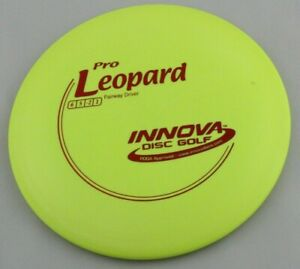 NEW-Pro-Leopard-171g-Driver-Yellow-Innova-Disc-Golf-at-Celestial-Discs