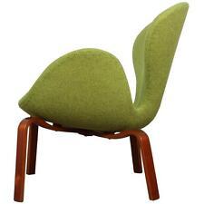 JACOBSEN Fritz Hansen Vtg Mid Century Danish Modern Teak Wood SWAN Lounge Chair