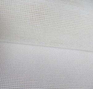white Interlock Mono Tapestry Canvas 10 count  Zweigart 25 x 25cm needlepoint