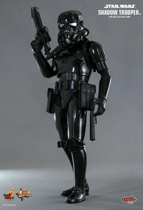 Hot Juguetes Estrella Wars Shadow Trooper 1 6 Escala Figura de Acción MMS271