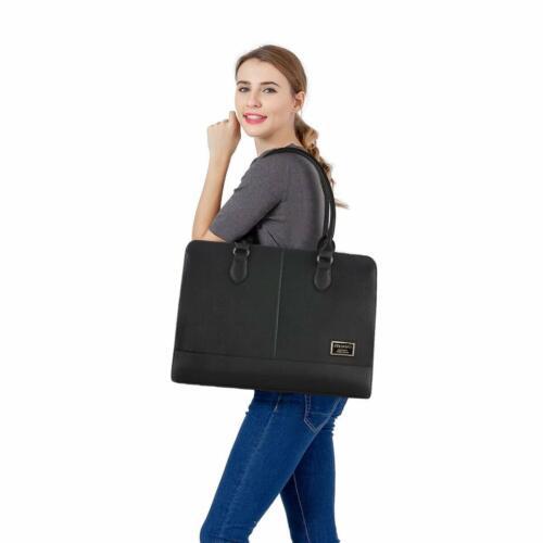 Laptop Tote Bag per Donna Ragazza Premium in Pelle Lavoro Viaggi Borsetta a Spalla 2018