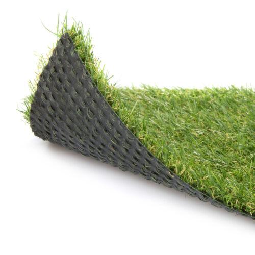 Quality 20mm Artificial Grass Astro Turf  Realistic Fake Lawn Green Garden CHEAP