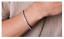 Bracciale-Tennis-Uomo-Donna-Acciaio-Inox-Argento-Cristalli-Bianco-Oro-Diamanti miniatura 3